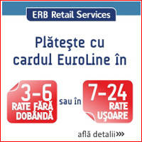 plata in rate cu card euroline
