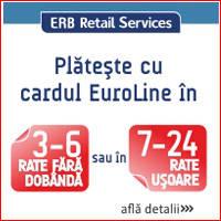 plata in rate cu card euroline