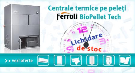 reducere ferroli biopellet