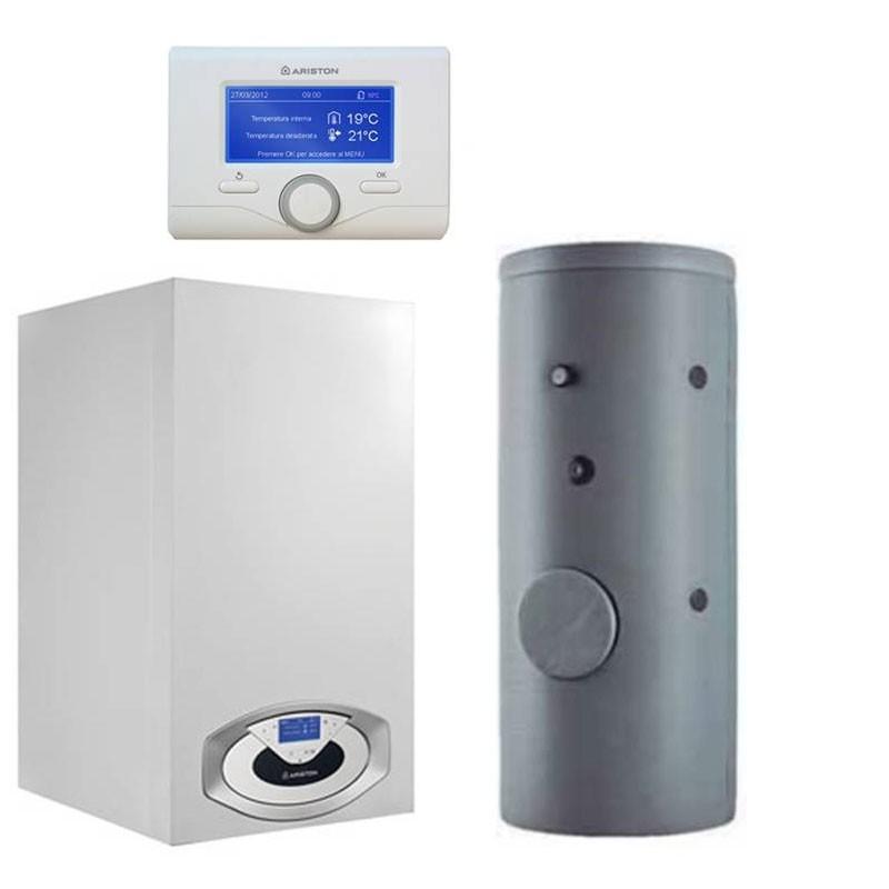 Poza Pachet centrala termica Ariston Genus Premium EVO HP 115 EU 115 kW cu boiler Maxis CD1 800 litri. Poza 10261
