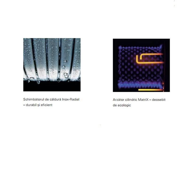 Poza Centrala termica in condensare Viessmann Vitodens 200-W,Vitotronic 100 HC1B 60 KW. Poza 10288