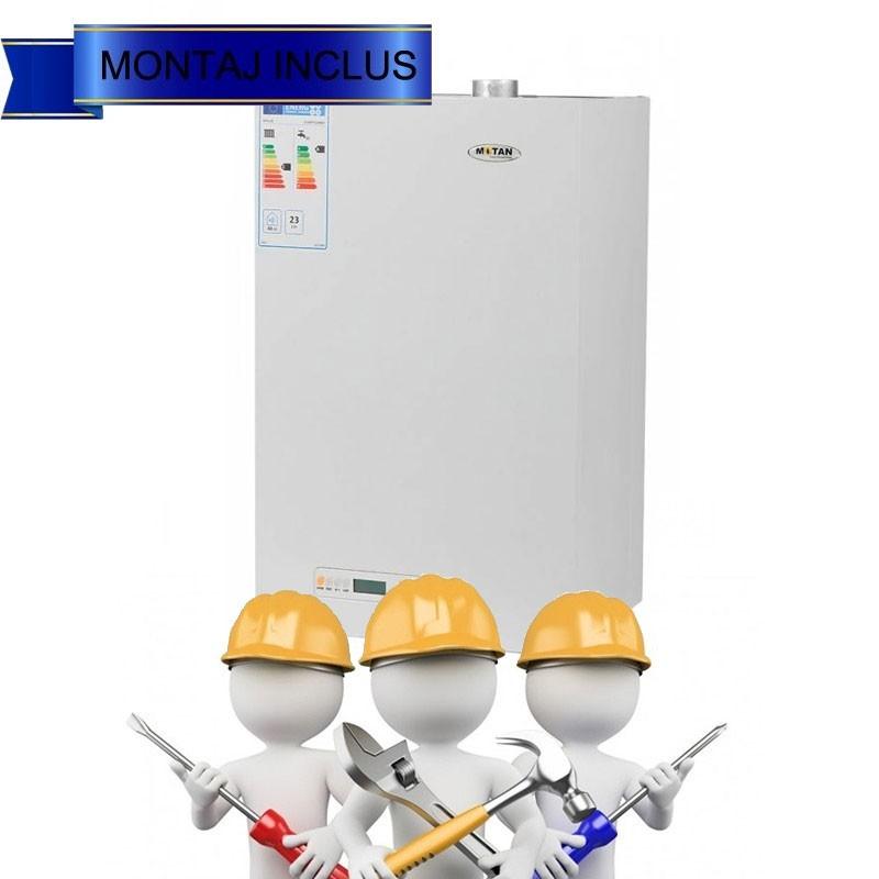 Poza Centrala termica Motan Kplus 23 kW cu montaj, punere in functiune si autorizatie de functionare. Poza 10453