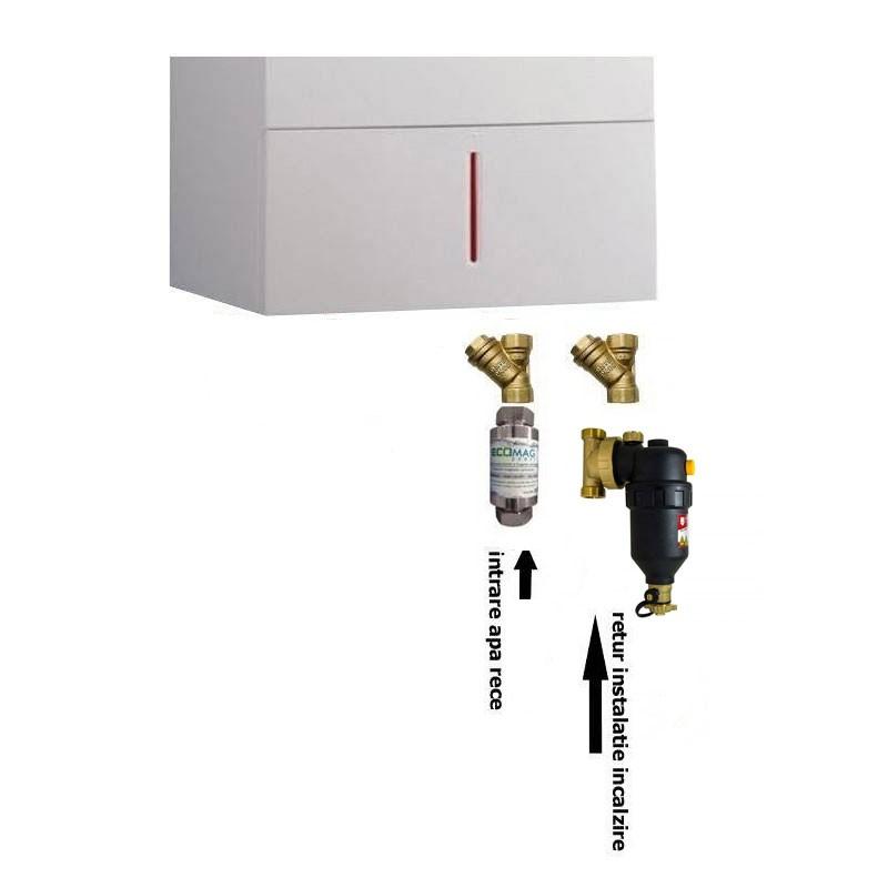 Poza Pachet premium filtre pentru instalare centrala termica murala. Poza 10544