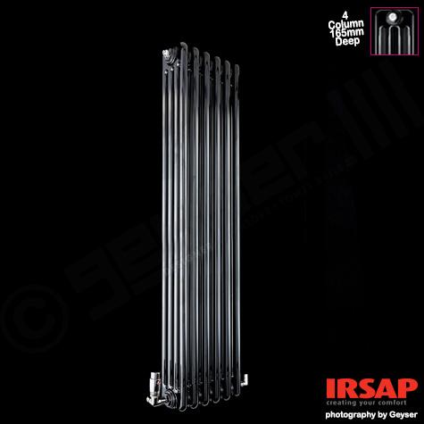 Caloriferele tubulare decorative Irsap Tesi 4, o gama de produse cu multiple optiuni de instalare. Poza 10596