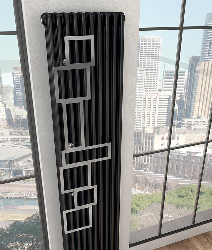 Caloriferele tubulare decorative Irsap Tesi 4, o gama de produse cu multiple optiuni de instalare. Poza 10597