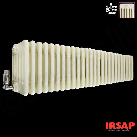 Poza Gama de caloriferele tubulare decorative Irsap Tesi 6, disponibila intr-o varietate larga de dimensiuni. Poza 10613
