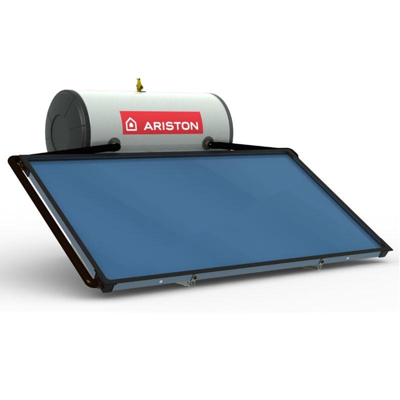 Poza Pachet panou solar Ariston KAIROS THERMO cu boiler 150 litri si suport inclinat. Poza 12283