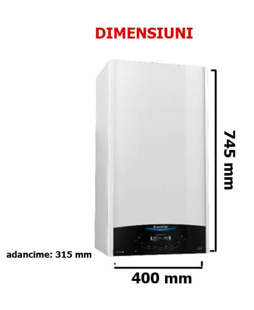 Poza Centrala termica cu functionare pe GPL Ariston Clas One 30 EU 30 KW. Poza 14425