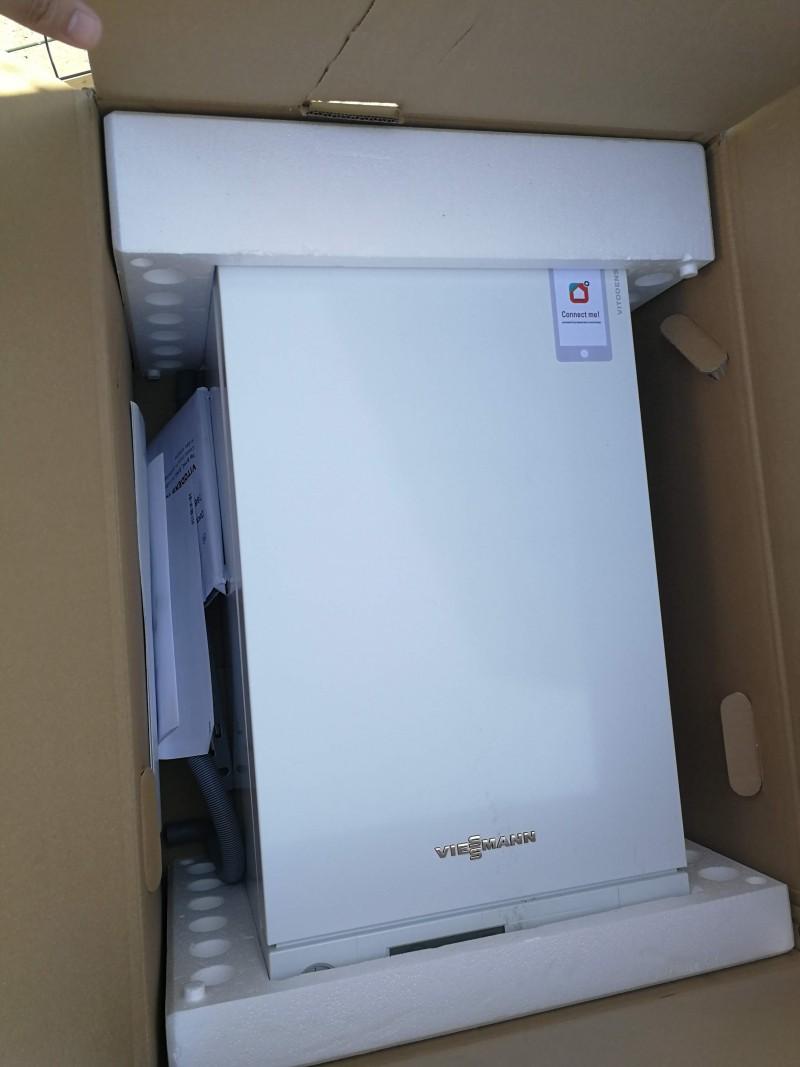 Poza Centrala termica in condensare  Viessmann Vitodens 100-W 26 kw combi B1KC156 resigilat. Poza 15348