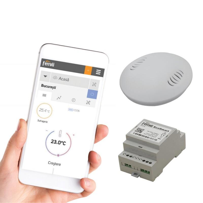 Poza Cronotermostat Ferroli EcoSmart Wi-Fi