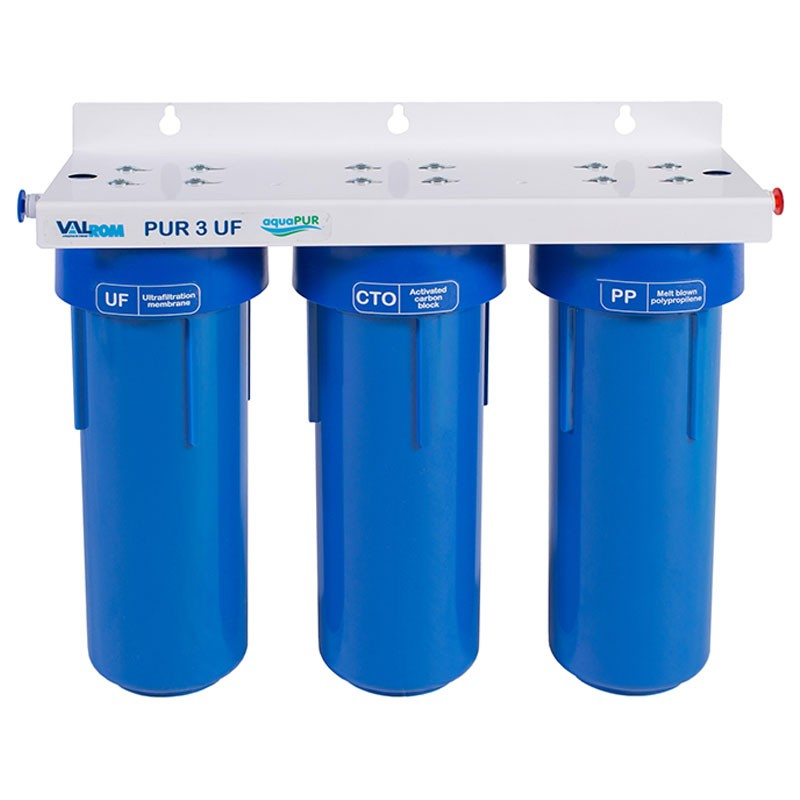 Poza Filtru apa potabila in 3 trepte cu ultrafiltrare Valrom PUR 3 UF. Poza 16579