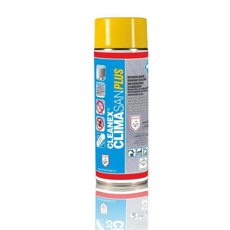 Poza Spray igienizant pentru aer conditionat Cleanex Climasan PLUS 400 ml. Poza 16657