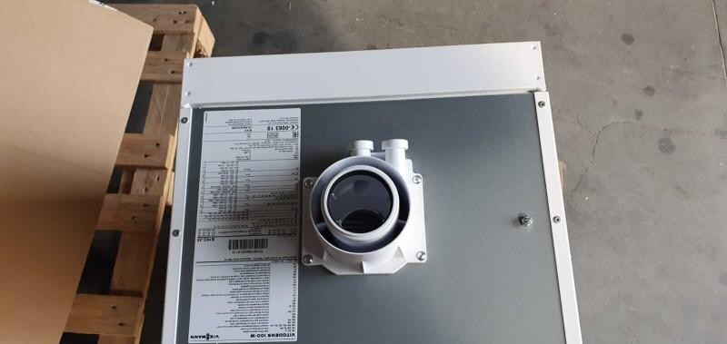 Poza Centrala termica in condensare cu touchscreen Viessmann Vitodens 100-W 35 kw combi B1KC157 resigilat. Poza 17011