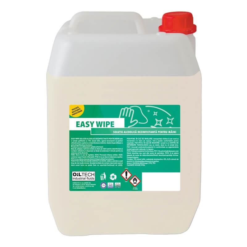 Poza Solutie gel dezinfectanta pentru maini Easy Wipe bidon 5 litri. Poza 17067
