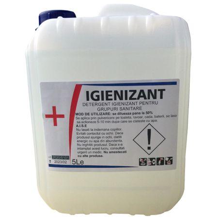 Poza Detergent igienizant Hoomby - bidon 5 litri. Poza 16664