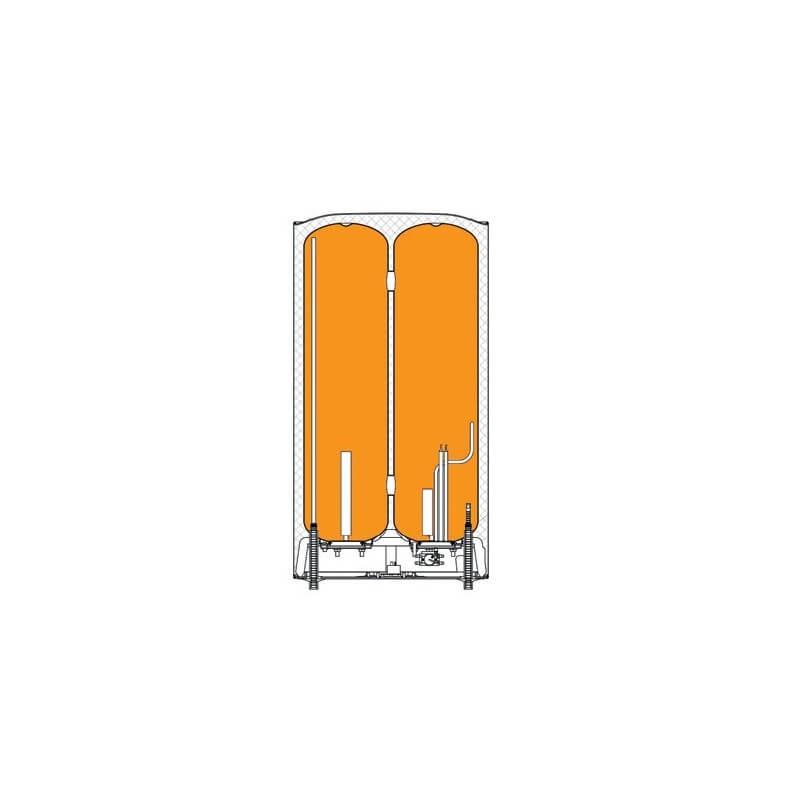 Poza Boiler electric Ferroli Titano Twin 50 litri control prin internet, wi-fi. Poza 17734