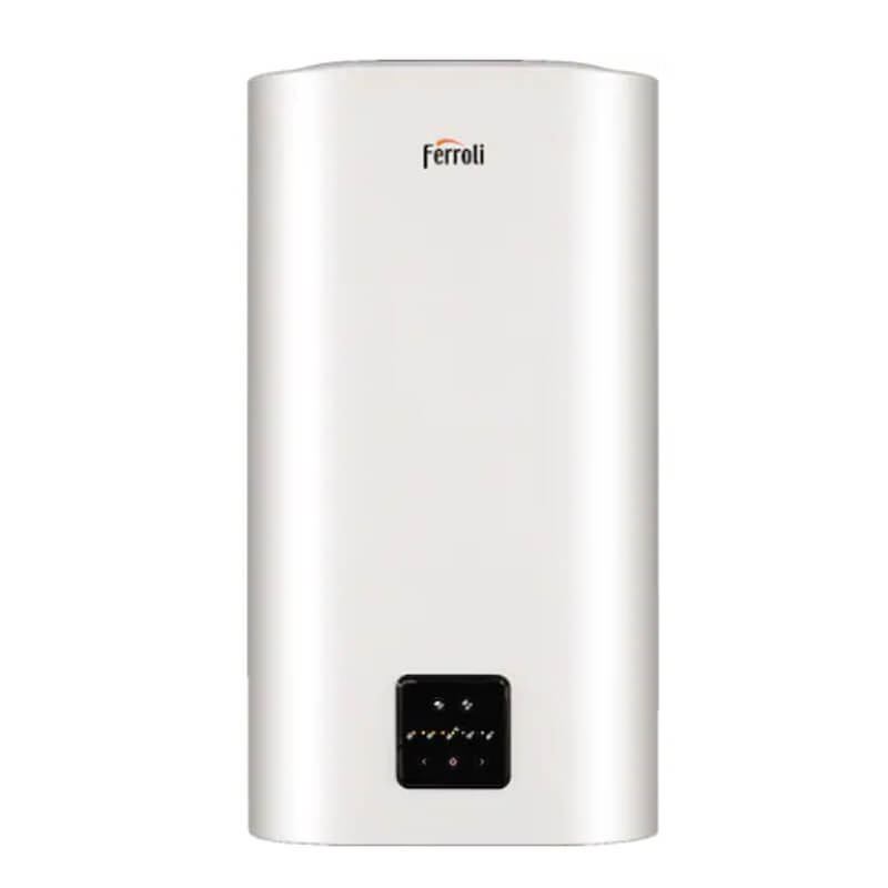 Poza Boiler electric Ferroli Titano Twin 80 litri control prin internet, wi-fi. Poza 17864