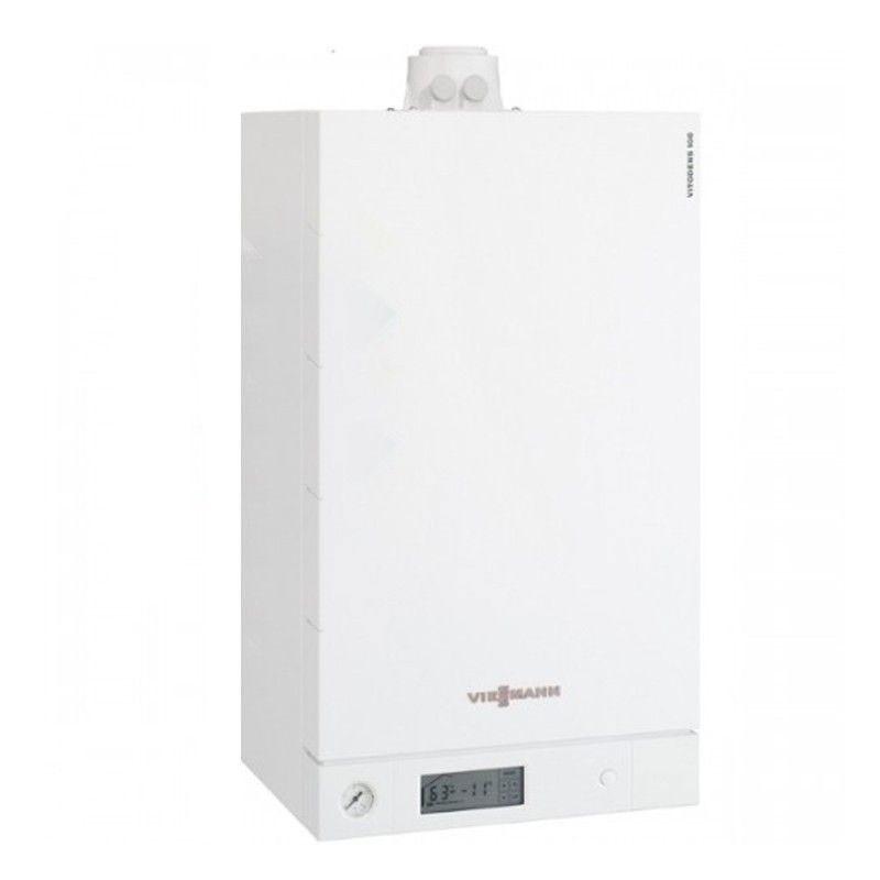 Poza Centrala termica in condensare cu touchscreen Viessmann Vitodens 100-W 26 kw B1HC178 numai incalzire. Poza 15581