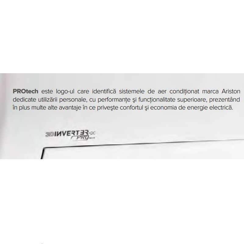 Poza Aer conditionat Ariston Prios R32 25 Mudo 9000 Btu, agent frigorific R32, clasa energetica A++. Poza 18421