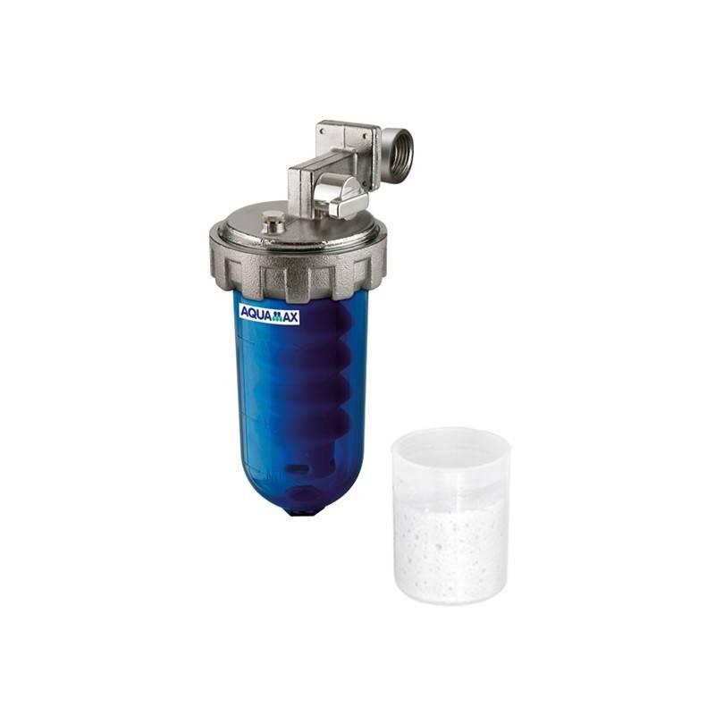 Poza Filtru anticalcar cu polifosfati Aquamax Dosamax Blu 1/2