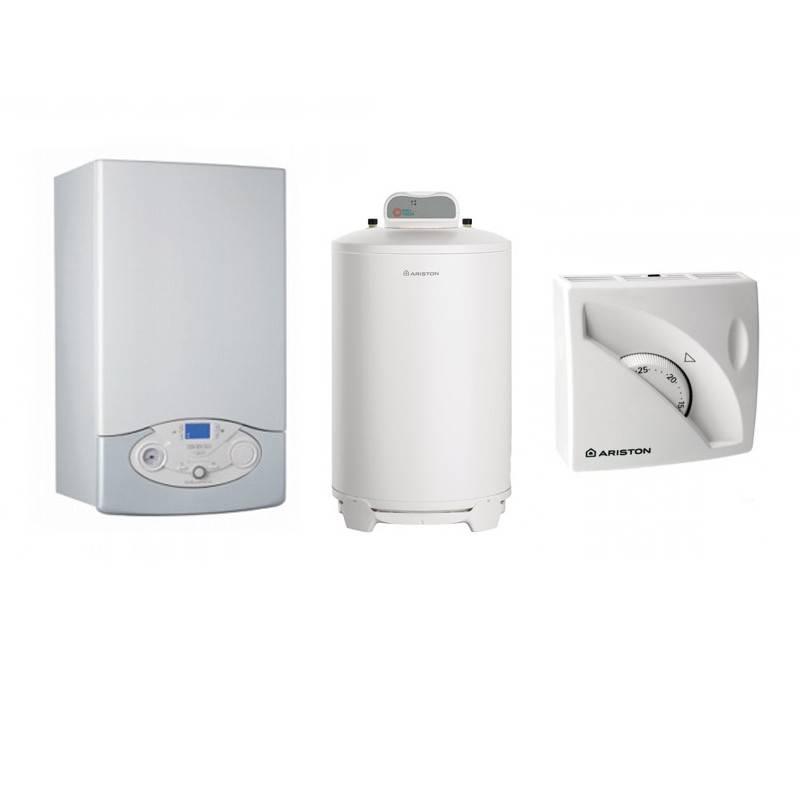 Poza Pachet Centrala termica Clas Premium System Evo 18 EU 18 kw cu boiler BCH 120 Litri