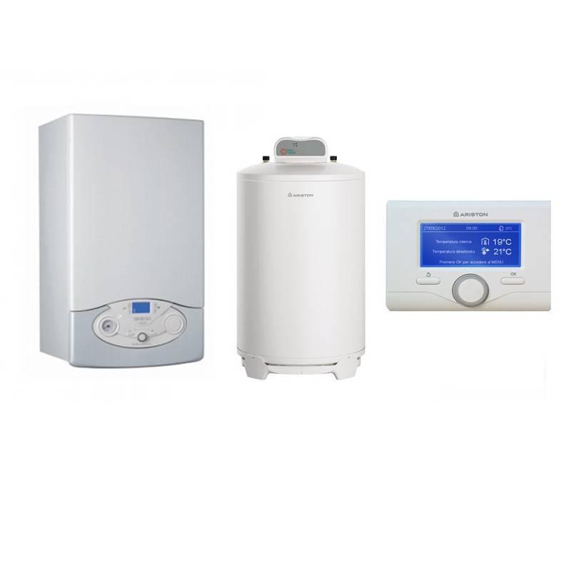 Poza Pachet Centrala termica Clas Premium System Evo 35 EU 35 kw cu boiler BCH 200 Litri