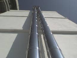 cosul de fum pentru centrala termica. Poza 222