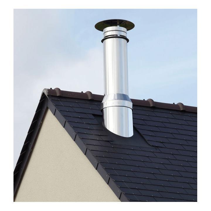 cosul de fum pentru centrala termica. Poza 223