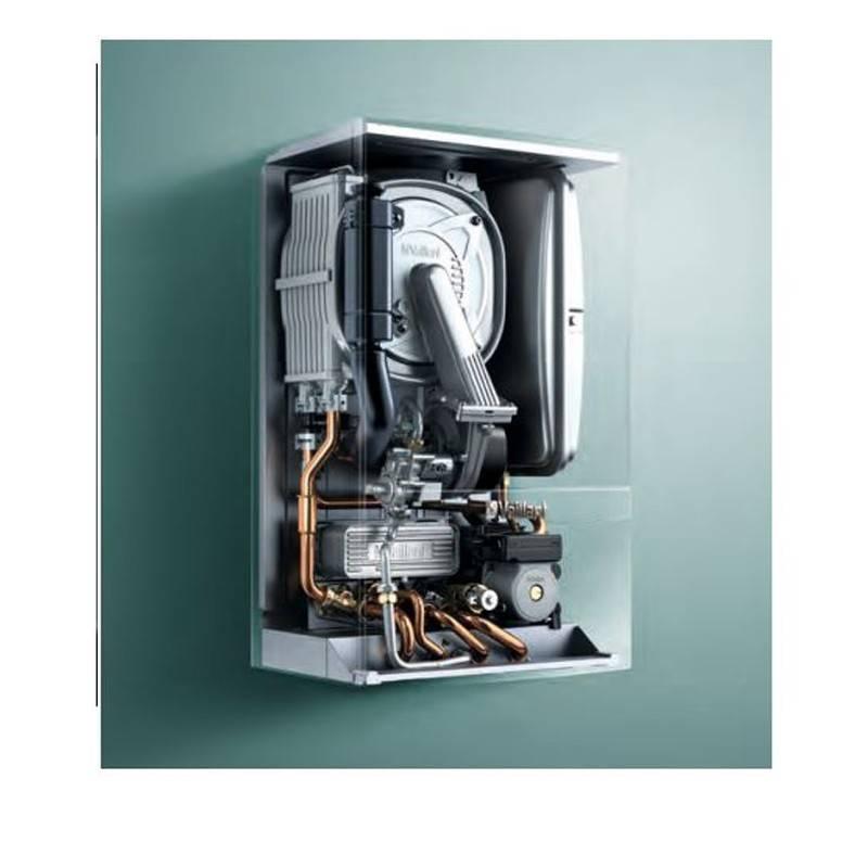 Poza Structura interna Centrala termica in condensatie Vaillant Ecotec VU INT II 356/5-5 - 35 kW