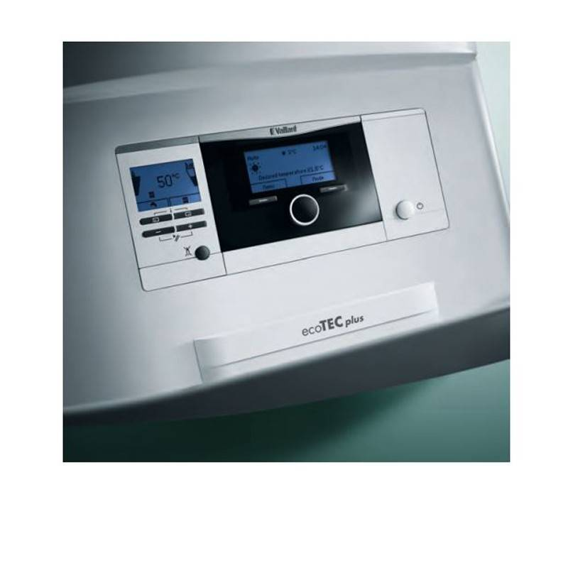 Poza Display Centrala termica in condensatie Vaillant Ecotec VUW INT II 246/5-5 - 24 kW