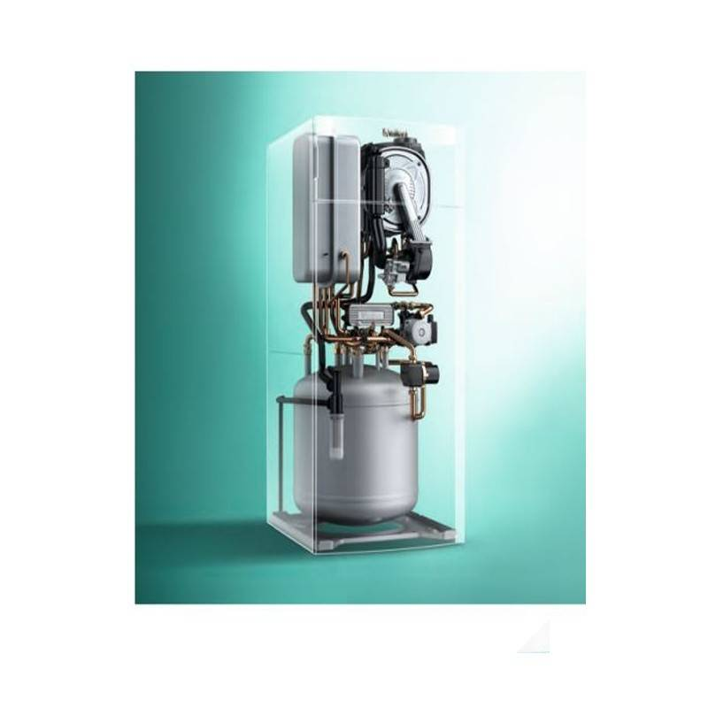 Poza Structura interna Centrala termica in condensatie cu boiler incorporat Vaillant Ecotec VSC INT 266/4-5 - 26 kW