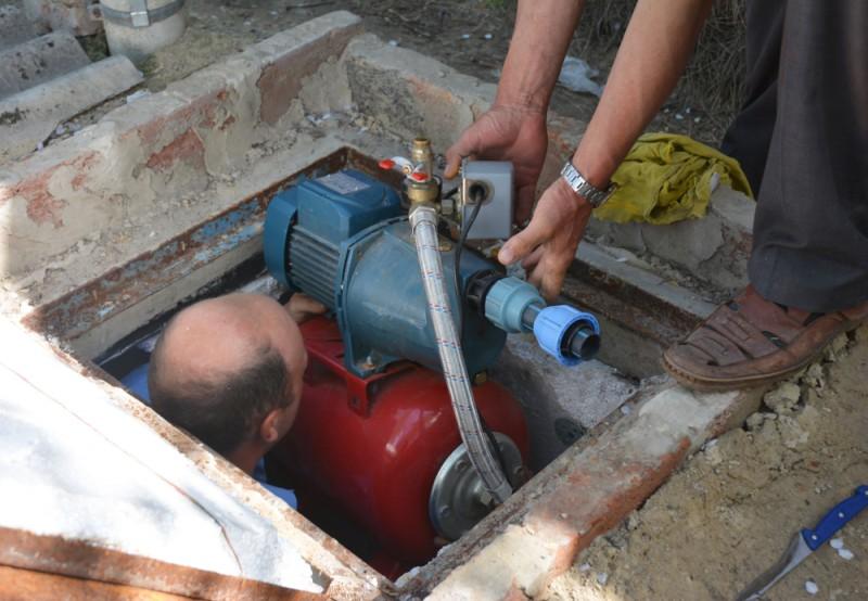 alimentarea casei cu apa. Poza 315