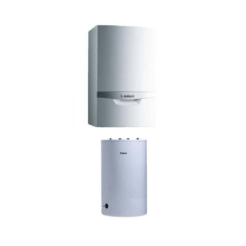 Poza  Pachet centrala termica in condensare Vaillant VU INT II 356/5-5 + boiler 120 litri
