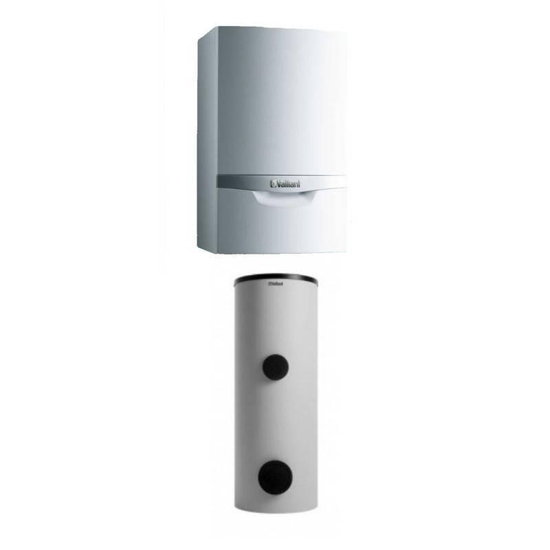 Poza Pachet Centrala termica in condensare Vaillant VU OE 656/4-5 + boiler solar 300 litri