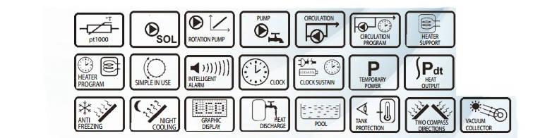 Caracteristici  controller Salus PCSol200 Classic