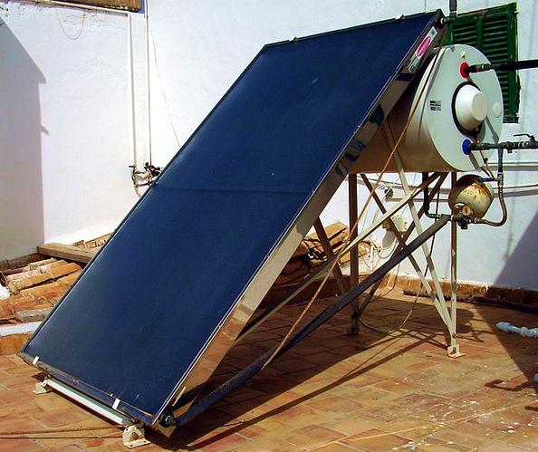 Panou solar plan nepresurizat