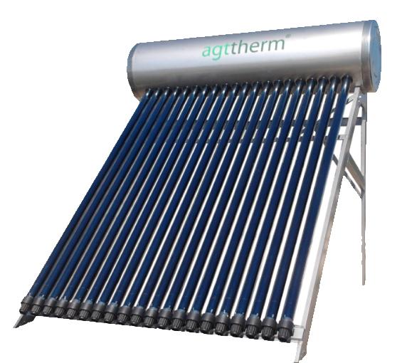 Panou solar cu tuburi vidate presurizat