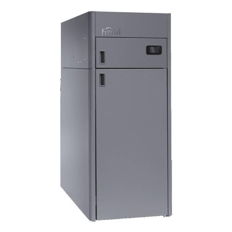 Poza Centrala termica pe peleti Ferroli BioPellet Tech 21S - 21 kW