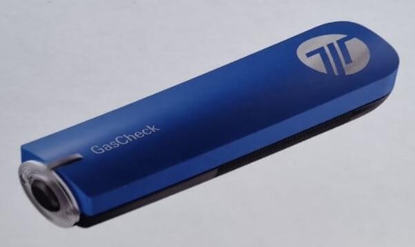 GasCheck - Dispozitiv pentru citirea nivelului de gaz din buteliile GPL