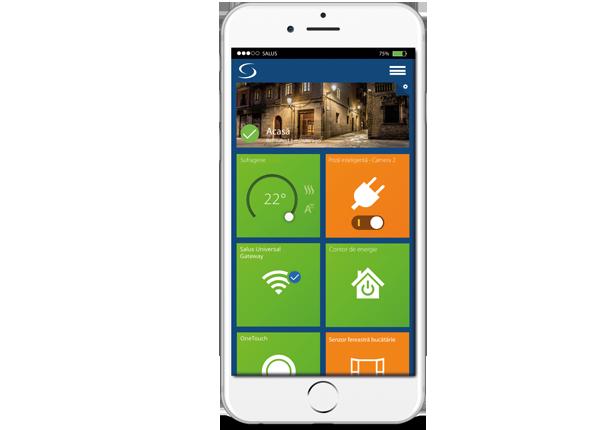 Confort, eficienta si control cu sistemul Salus Smart Home IT600. Aplicati