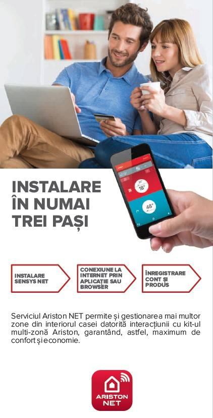Centrala termica Ariston Clas Premium Evo Net 30 EU 30 KW. Poza 7919