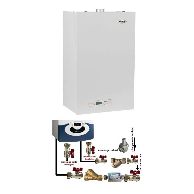 Poza Centrala termica cu pachet de instalare Motan Sigma 24 Erp - 24 kW. Poza 8496