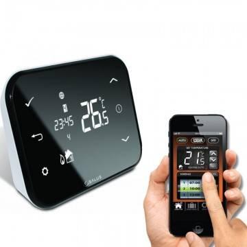 cronotermostatul de ambient pentru centrala termica. Poza 87
