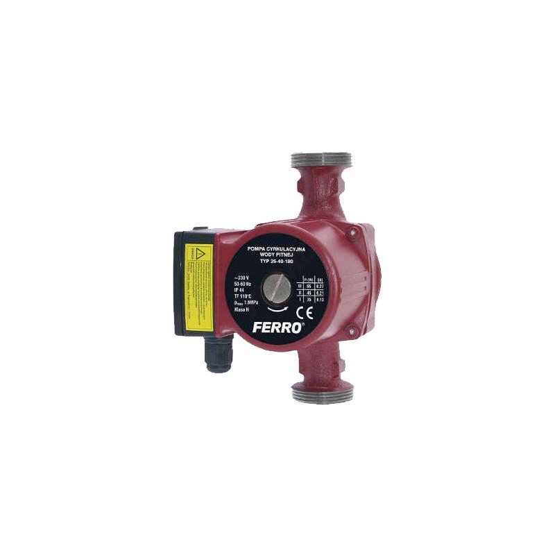 Poza Pompa circulatie pentru apa potabila Ferro 25/40 – 180