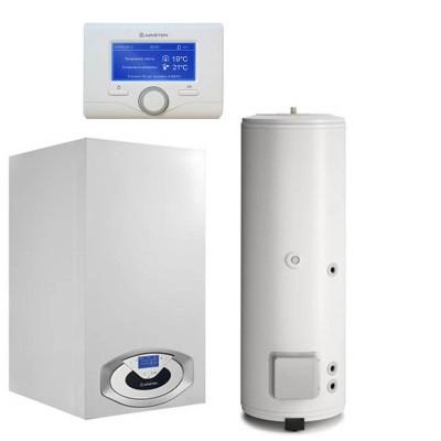 Poza Pachet centrala termica Ariston Genus Premium EVO HP 100 EU 100 kW cu boiler BC1S 450 litri. Poza 10260