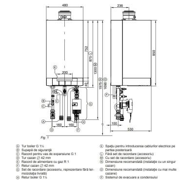 Poza Centrala termica in condensare Viessmann Vitodens 200-W, Vitotronic 200 HO1B 80 KW. Poza 10315
