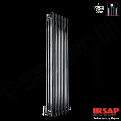 Poza Caloriferele tubulare decorative Irsap Tesi 4, o gama de produse cu multiple optiuni de instalare. Poza 10596