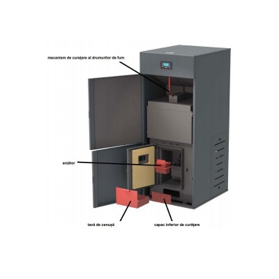 Poza Centrala termica pe peleti Ferroli Biopellet Pro 24