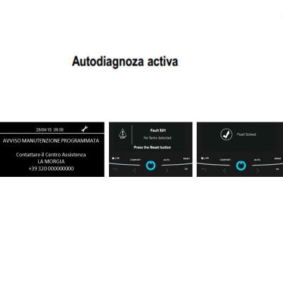Poza Autodiagnoza centrala termica in condensare Ariston Alteas One Net