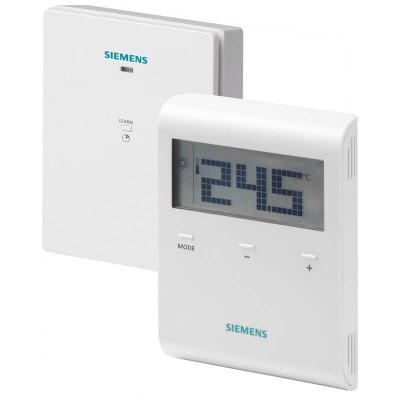 Poza Termostat digital neprogramabil fara fir Siemens RDD100.1RFS. Poza 15134